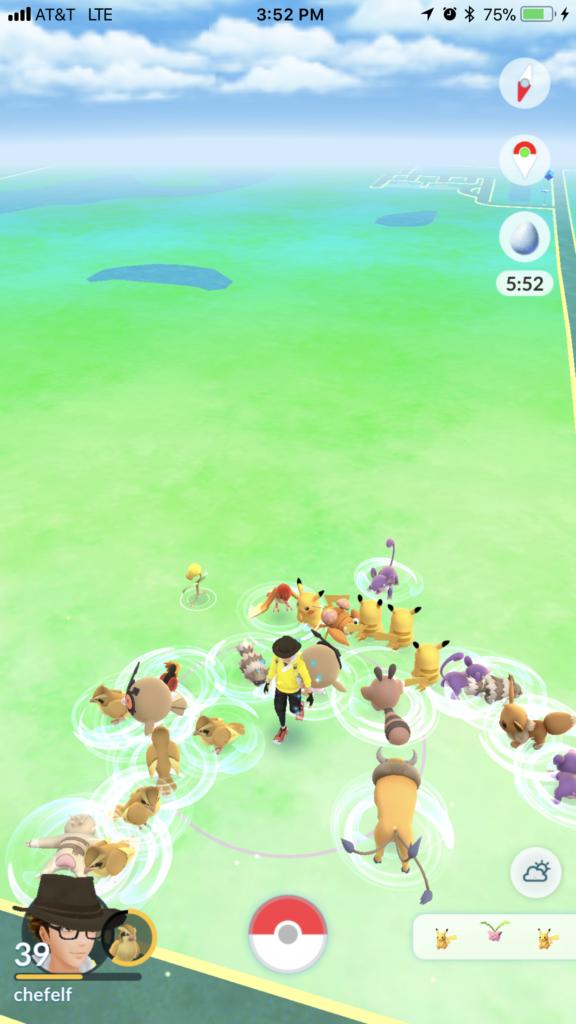 Pokémon Go Community Day Impressions